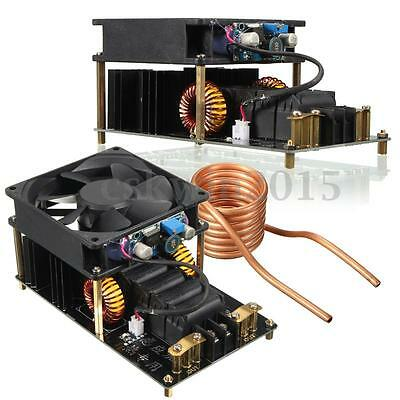 1000W ZVS High Frequency Induction Heating Machine 12V ~ 36V Heater +Copper Tube