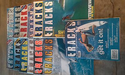 Tracks surfing magazine, 2001, 12 issues, excellent condition