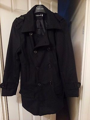 Mens  3/4 length  double breasted coat size 36R