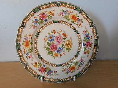 Vintage Grindley Chelsea Bouquet Bread & Butter Plate With Gold Accent