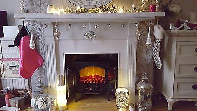 Warmlite Log Effect Stove electric fire