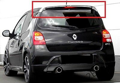 Renault Twingo 2 Mk2 Rear Roof Spoiler Gt Look New