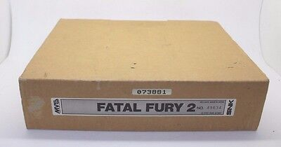 Fatal Fury 2 NEO GEO MVS SNK box + art set