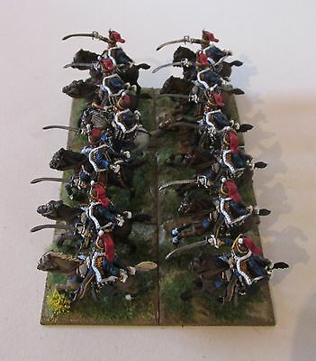 12x28mm painted Perry Napoleonic 2nd KGL Hussars