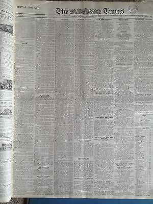 The Times newspaper. 12th July 1947. ORIGINAL & COMPLETE.