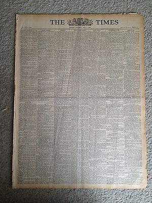The Times newspaper 27th 29th 30th August 1947. ORIGINAL.