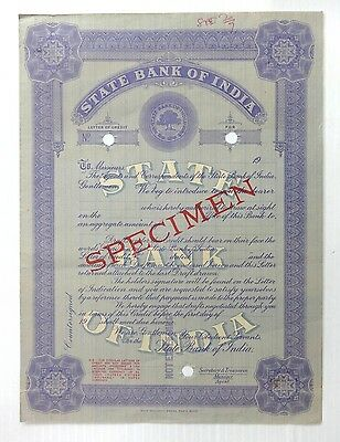 State Bank of India Letter of Credit SPECIMEN