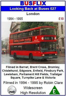 Looking Back at Buses 27 London 1994 - 1995