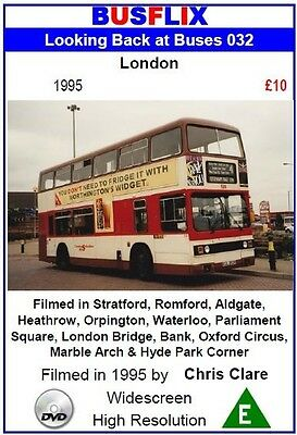 Looking Back at Buses 32 London 1995