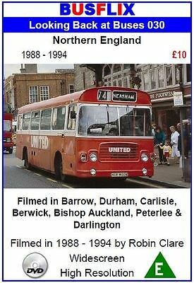 Looking Back at Buses 30 Northern England 1988 - 1994