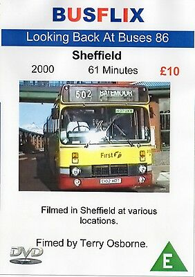 Looking Back at Buses 86 Sheffield 2000  *61 minutes*