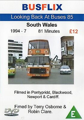 Looking Back at Buses 85 South Wales 1994 - 7  *81 minutes*