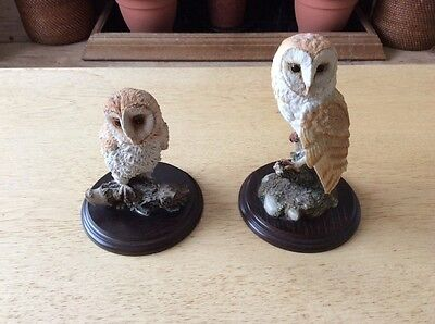 Country Artists hand crafted Barn Owls