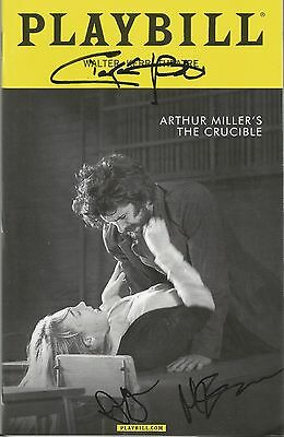 The Crucible Playbill Signed by Ciaran Hinds