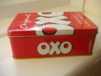 Vintage Oxo tin ~ 1996~ in excellent condition.