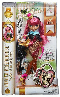 Ever After High Rebel Ingwer Broodhuis Puppe