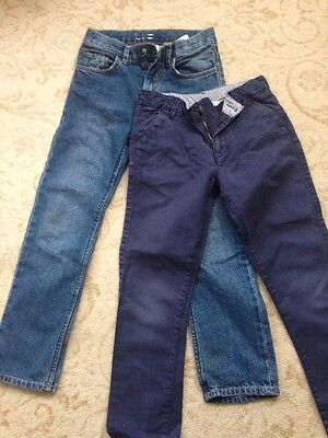 Trousers Bundle. Jeans. John Lewis Chinos. Age7