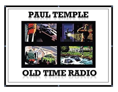 PAUL TEMPLE COMPLETE AUDIO BOOK COLLECTION DRAMATISED 2 x MP3 CD's 45 HOURS!