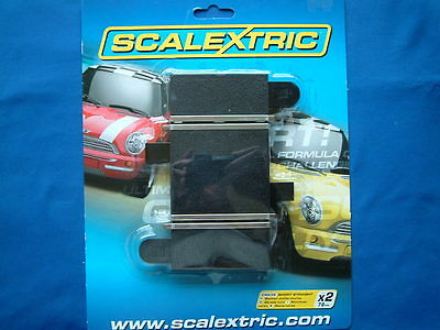 Scalextric C8236 - New Track - Unopened Pack Of 2 Short Straights