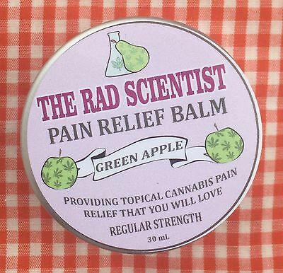 The Rad Scientist Pain Relief Balm - Green Apple