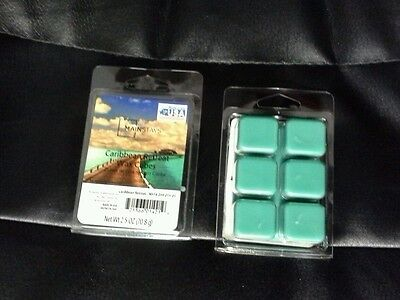Mainstay Scented Wax Cube Melts Candle 6 Cubes Pack Oil Burner CARIBBEAN RETREAT