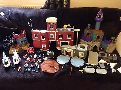 Fisher Orice Imaginext Bundle Firsetation Castle Figures Plus