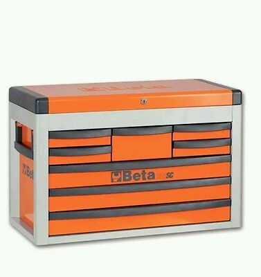 ^% Beta Tools C23SC O 8 Drawer Tool Chest Box Orange