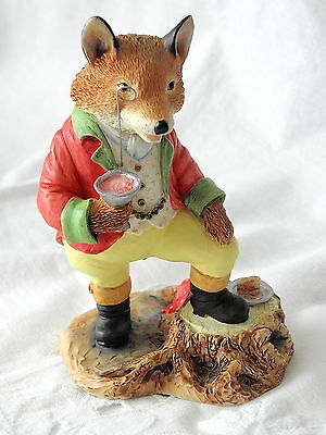 Villeroy & And Boch ~ Foxwood Tales ~ Squire Fox ~ Ft10