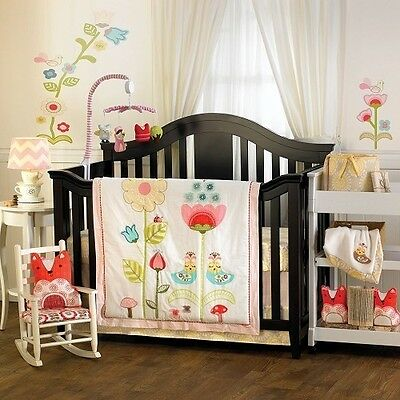 Lolli Living Scarlet 4-Piece Crib Bedding Set *New* Girls