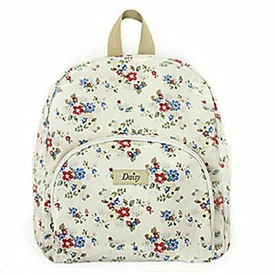 Flowers Summer Daisy Kids Backpack Girls School Accessory