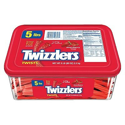 TWIZZLERS Twists (Strawberry 5-Pound Package)