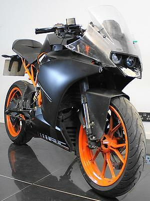 2014 64 Ktm Rc 125 Abs Learner Legal Race Replica Project/spares/repairs Cat D
