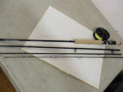 """SUPERFLY 9"""" Performance Fly Rod - 7/8 WT LINE & SUPERFLY 7/8 REEL"""