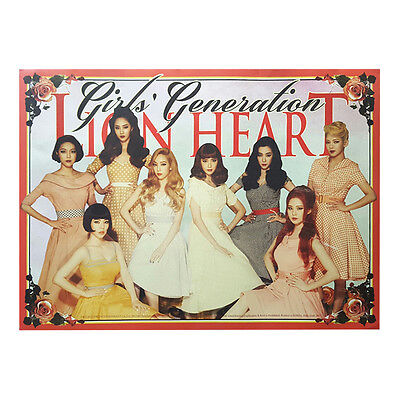 Official Kpop folded poster (Girl's Generation - Lion Heart/ You Think)