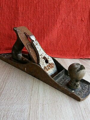 Very Large Stanley/Bailey vintage wood plane.