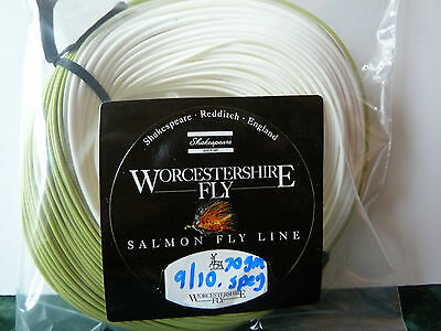 WORCESTERSHIRE 9/10 SALMON FLY LINE 70g SPEY