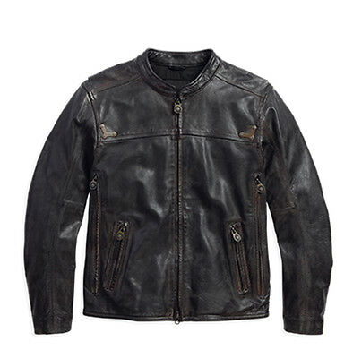 97097-16Vm Harley-Davidson Men's Jacket Willie G. Limited Edition Leather  *new*
