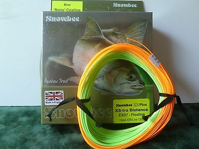 Snowbee Fly Fishing Line - XS-Tra Distance EXD6 Floating Head 40ft Line 120ft