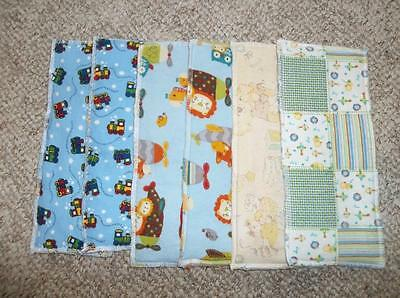 6 New Home Sewn Diaper Doublers – Lot #3