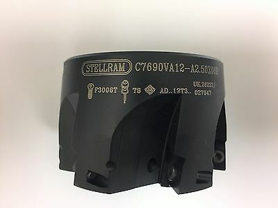 Kennametal Stellram Milling Cutter Indexable #7690VA12A2.50Z06R #027947