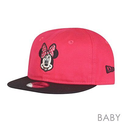 New Era 9Fifty Snapback Baby Infant Cap - MINNIE MOUSE pink