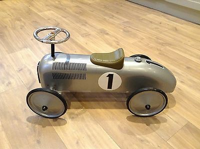 Silver Ride On Kids Car No.1
