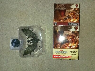 D&D Icons of the Realms: Tyranny of Dragons - Black Shadow Dragon miniature