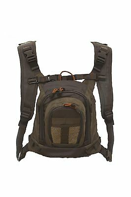 New Fishoot Lightweight Adjustable Skeena Fly Fishing Vest Pack / Back Pack