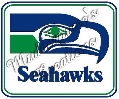 Seattle Seahawks Old Logo Mouse Pad