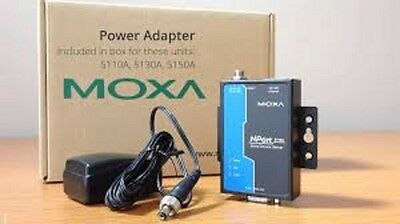 MOXA NPort 5110 media converter  RS-232 to 10/100M Ethernet,Serial device server