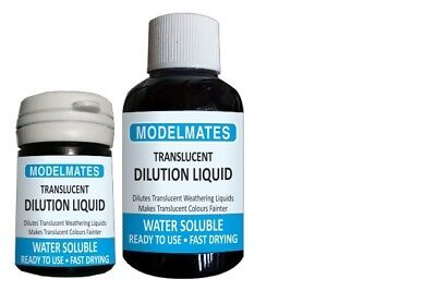 Modlemates Opaque Weathering Liquid - Opaque thinning Liquid - 18ml Paint New