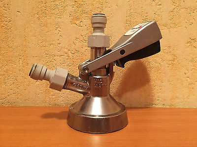 """Micro Matic """"G"""" System Draft Beer Keg Coupler used"""