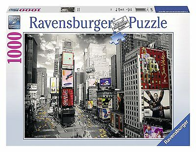 Ravensburger 19470 - Puzzle 1000 Pezzi, New York Times Square,