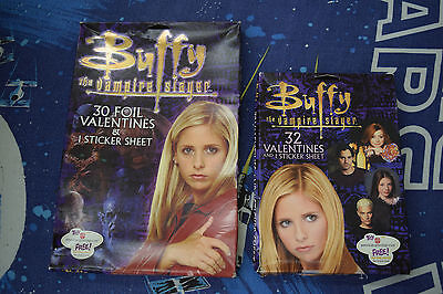 Buffy the Vampire Slayer 2X Valentines Cards 62 Total Cards New in Box 2003
